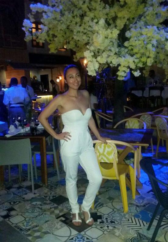 Natalíe en Punta Cana