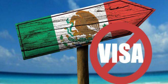 Paises que no solicitan visa a Méxicanos