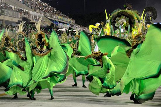 carnaval en rio de Janeiro