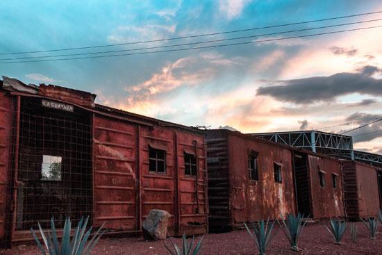 Antigua estación del tren en Atotonilco