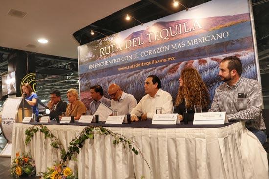 Rueda de prensa sobre los 10 años de la ruta del Tequila
