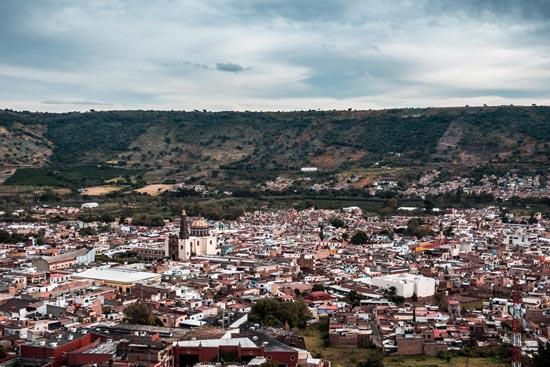 Vista desde el Mirador en Atotonilco
