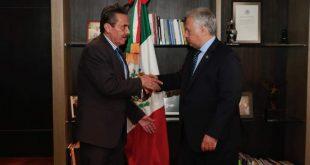Alejandro Aguilera y Miguel torruco