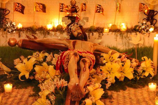 Tendido de Cristo en Jalisco