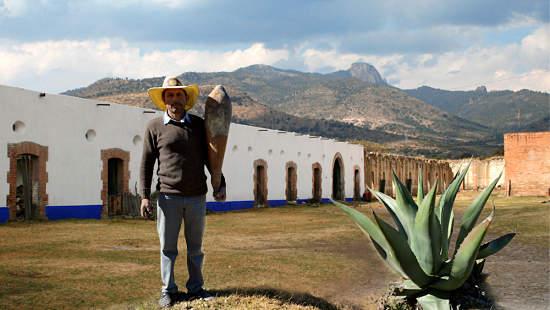 Tlachiquero de la Hacienda Pulquera de San Diego Xochuca