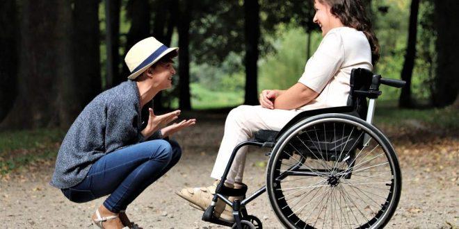 Turista con discapacidad