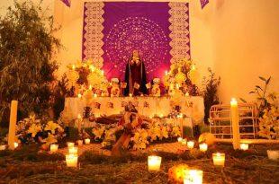altar de dolores y tendido de cristo