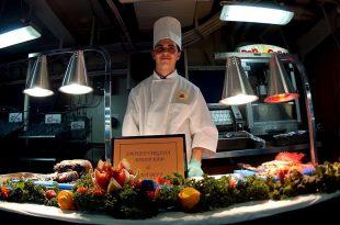estudiante de gastronomía