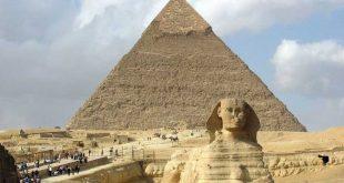 pirámides de Giza y la Esfinge