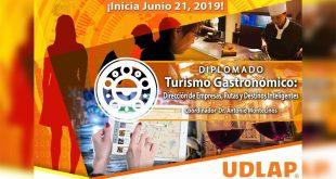 Diplomado Turismo Gastronómico Inteligente en la UDLAP