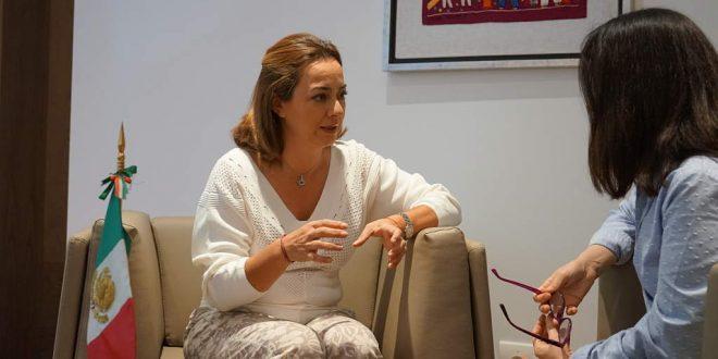 Entrevista a Claudia Chavez, secretaria de turismo de Michoacán