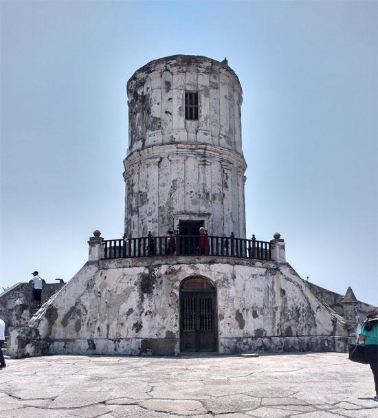 Fuerte de San Juan de Ulúa en Veracruz