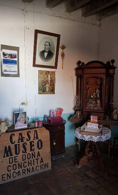 Interior de la Casa Museo de Doña Conchita Encarnación