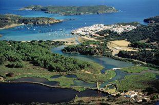 Menorca en las Islas Baleares