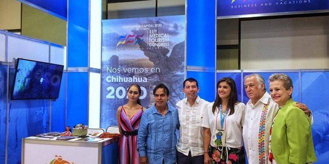 Presentación del 11vo Congreso Internacional de Turismo Médico 2020 sede Chihuahua