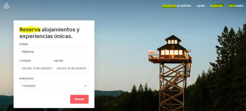 airbnb resaltado
