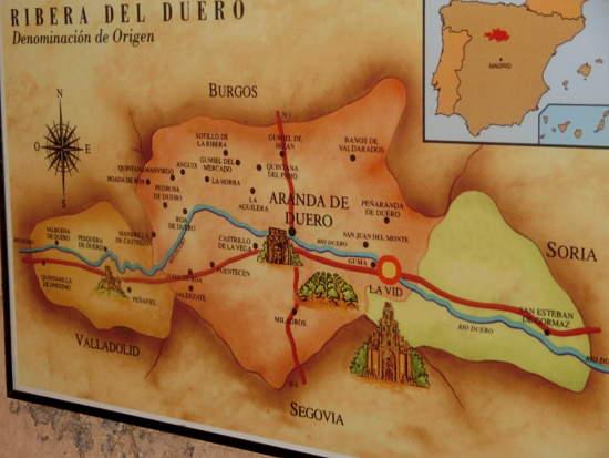 Aranda Mapa