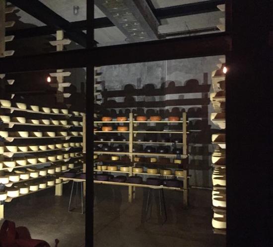 Bodegas de fermentación de quesos en Ezequiel Montes, Queretaro