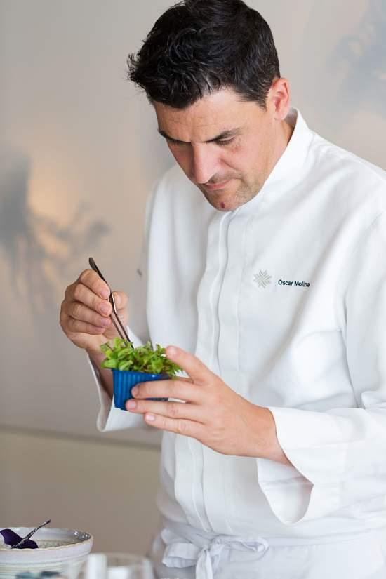 Chef Oscar Molina