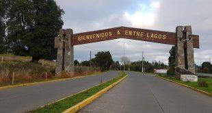 Entrada a la ciudad Entre Lagos