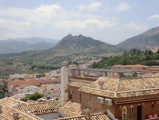 Jaén Vista a la Judería en Andalucía