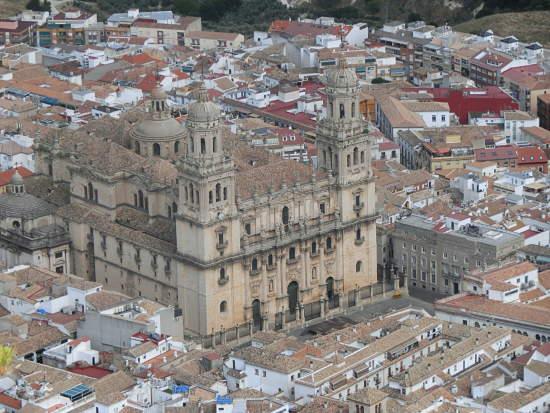 Jaén vistas desde Catalina en Andalucía