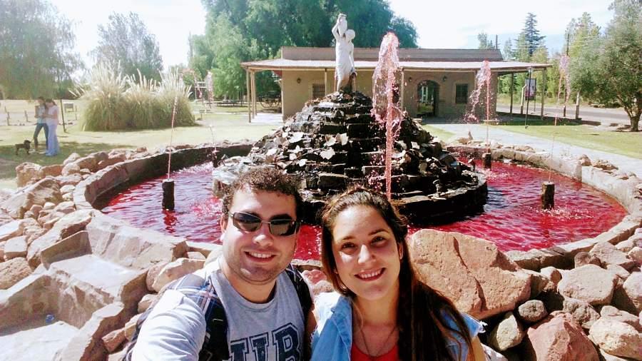 La Fuente de Vino en San Rafael Mendoza Argentina
