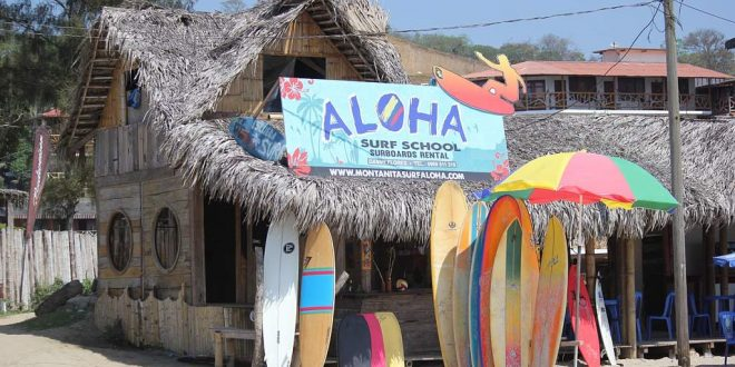 Montañita el destino surfista de Ecuador