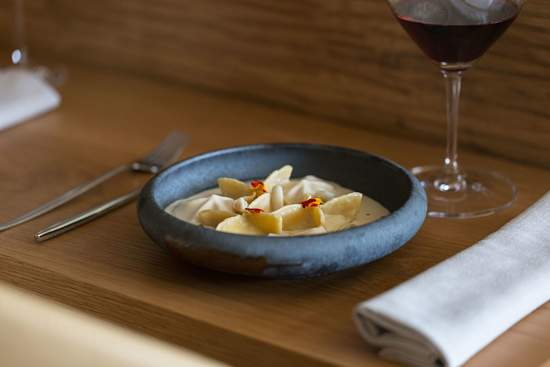 Restaurante La Gaia ravioli raya