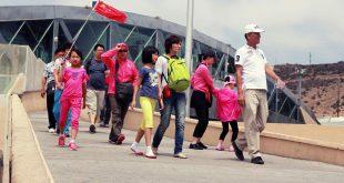 Turistas chinos en Tijuana