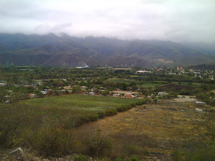 Arroyo Seco desde el cerro de Concá