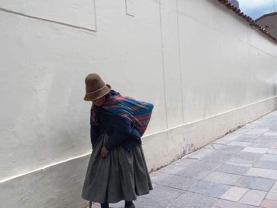 Habitante Mujer de Cusco en Perú