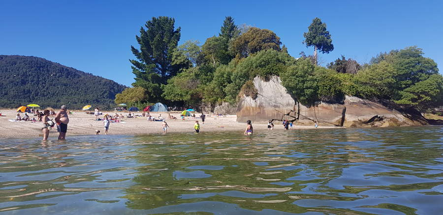 Playa Metri en Puerto Montt, Chile