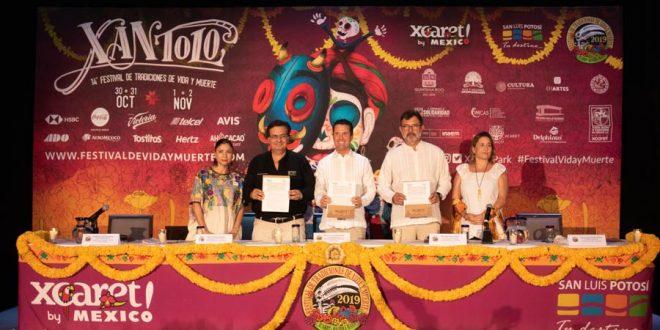 14° Festival de Tradiciones de Vida y Muerte 2019 en Xcaret Conferencia de prensa