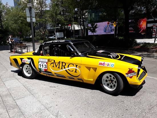 Auto de la Carrera Panamericana México