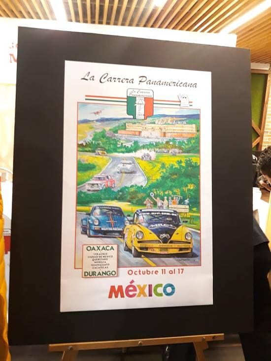 Cartel de la Carrera Panamericana México 2019