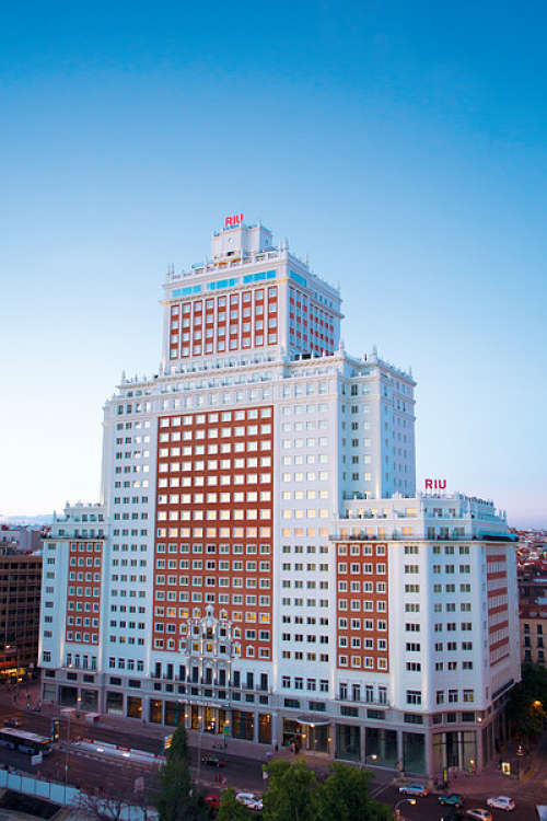 Hotel Riu Plaza Madrid Fachada