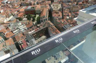 Hotel Riu Plaza Madrid desde las alturas
