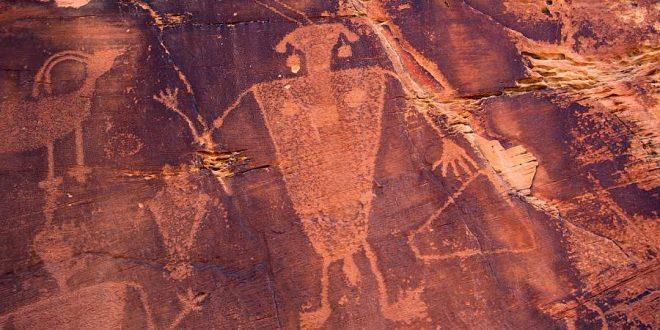 Los petroglifos de Cub Creek
