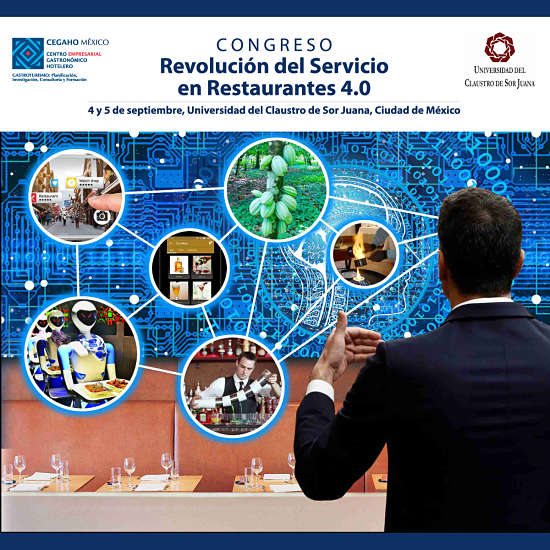 Promo Congreso Revolución del Servicio en Restaurantes 4.0