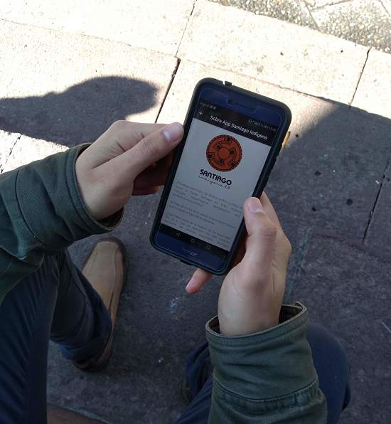 app Santiago Indígena