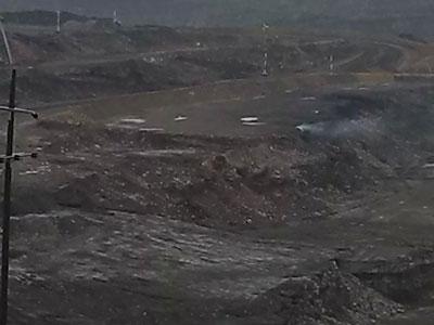 mina del cerrejon albania 2
