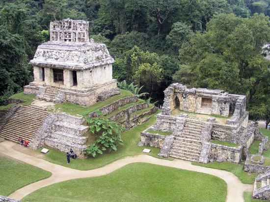 zona arqueológica en Chiapas