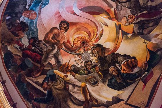 mural de José Alfredo Rosales