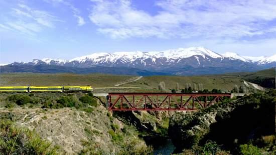 Tren Patagonico en Argentina