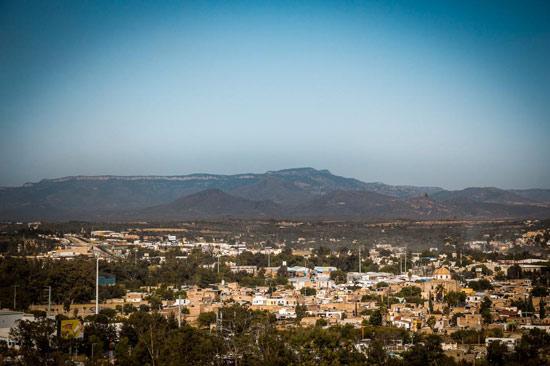 Vista desde el Mirador de la Santa Cruz