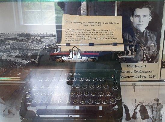 maquina escribir hemingway