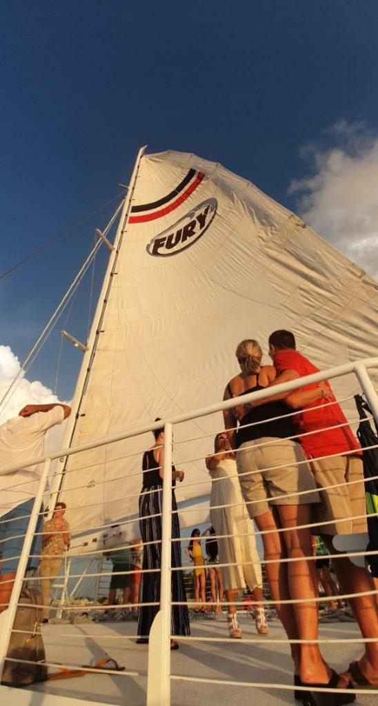 mastil barco