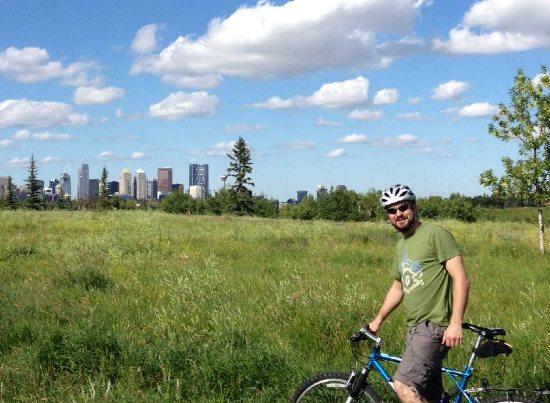 Alexandro Dupuis Calgary Bicicleta