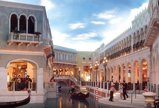 Grand Canal Shoppes en el Venetian